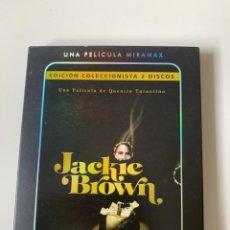 Cine: JACKIE BROWN EDICIÓN ESPECIAL COLECCIONISTA - QUENTIN TARANTINO - 2 DVD CON ESTUCHE. Lote 262369670