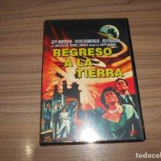 Cine: REGRESO A LA TIERRA DVD JEFF MORROW NUEVA PRECINTADA. Lote 262403435