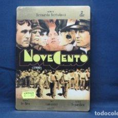 Cine: NOVECENTO - DVD CAJA METALICA. Lote 262457455