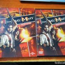 Cine: THE MUMMY LA MOMIA DVD 2012 EDICION LIMITADA ESPAÑA RACHEL WEISZ JOHN HANNAH ARNOLD VOSLOO. Lote 262462695