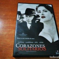 Cine: CORAZONES SOLITARIOS DVD DEL AÑO 2007 ESPAÑA JOHN TRAVOLTA SALMA HAYEK JAMES GANDOLFINI. Lote 262464145