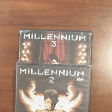 Cine: TRILOGIA MILLENNIUM - LAS TRES PELICULAS. DVD STEIG LARSON. Lote 262584495