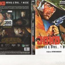 Cinema: DVD - JOKO INVOCA A DIOS Y MUERE - 1 SOLO PASE. Lote 262720840