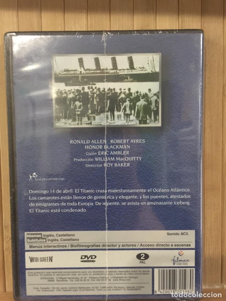 Cine: La última noche del Titanic DVD - Precintado - - Foto 2 - 262752575