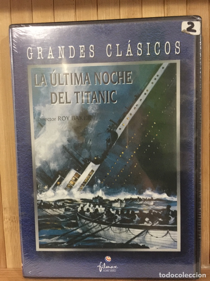 LA ÚLTIMA NOCHE DEL TITANIC DVD - PRECINTADO - (Cine - Películas - DVD)