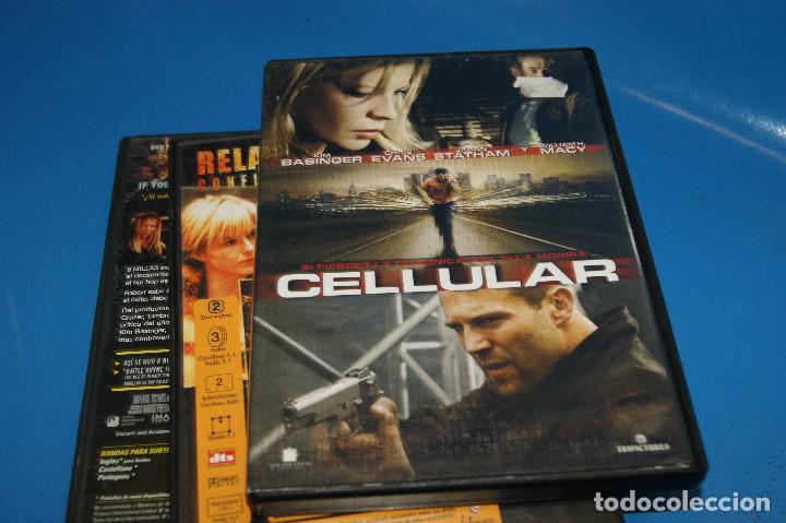 Cine: Lote 3 dvds ESPECIAL KIM BASINGER-CELLULAR-8 MILLAS-RELACIONES SENTIMENTALES - Foto 7 - 262826645