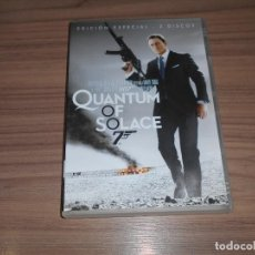 Cine: QUANTUM OF SOLACE JAMES BOND 007 EDICION ESPECIAL 2 DVD DANIEL CRAIG. Lote 262861630