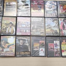 Cine: LOTE 27 DVD PELÍCULAS WESTERN. Lote 262879830