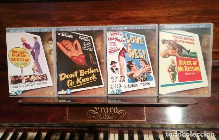 LOTE 4 PELÍCULAS MARILYN MONROE (Cine - Películas - DVD)