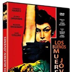 Cine: LOS BUENOS MUEREN JOVENES (LAURENCE HARVEY, GLORIA GRAHAME, JOAN COLLINS) - DVD NUEVO Y PRECINTADO. Lote 262898950