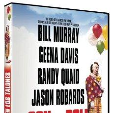 Cine: CON LA POLI EN LOS TALONES (BILL MURRAY, GEENA DAVIS, JASON ROBARDS) - DVD NUEVO Y PRECINTADO. Lote 288606943