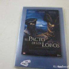 Cine: EL PACTO DE LOS LOBOS- DVD - TAPA FINA- N 2. Lote 262942625