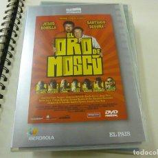Cine: EL ORO DE MOSCU- DVD - TAPA FINA- N 2. Lote 262942865