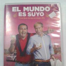 Cine: EL MUNDO ES SUYO. ALBERTO LÓPEZ DVD. Lote 262943120