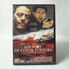 Cine: LOS RÍOS DE COLOR PÚRPURA (2000)/MATHIEU KASSOVITZ/JEAN RENO/VINCENT CASSEL. Lote 262943940
