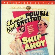 Cine: SHIP AHOY DVD ( SOLO EN INGLÉS) MUSICA DE LAS BIG BANDS Y...UNA ESPIA A BORDO,,,GENIAL !. Lote 262944575