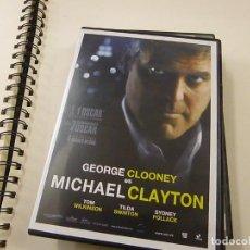 Cine: DVD - MICHAEL CLAYTON- CAJA DELGADA - N 2. Lote 262944775