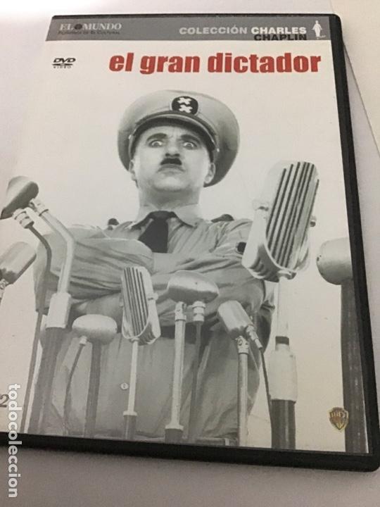 EL GRAN DICTADOR COLECCIÓN CHARLES CHAPLIN CAJA FINA (Cine - Películas - DVD)