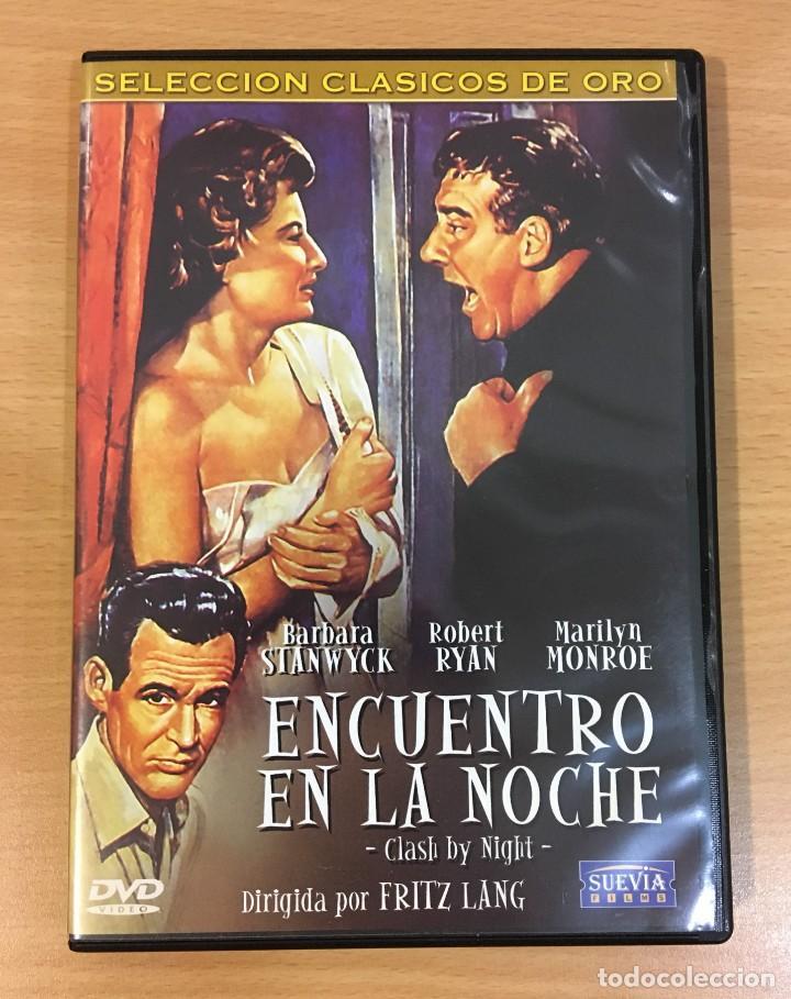 DVD CINE DE FRITZ LANG - ENCUENTRO EN LA NOCHE / CLASH BY NIGHT (1952), CON MARILYN MONROE (Cine - Películas - DVD)