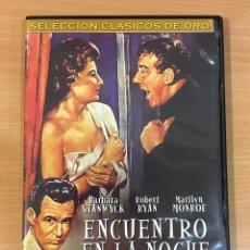 Cine: DVD CINE DE FRITZ LANG - ENCUENTRO EN LA NOCHE / CLASH BY NIGHT (1952), CON MARILYN MONROE. Lote 263039905