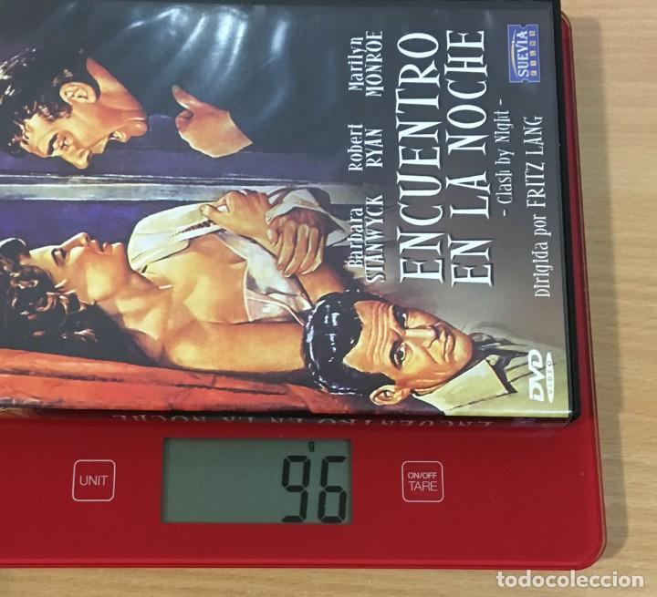 Cine: DVD CINE DE FRITZ LANG - ENCUENTRO EN LA NOCHE / CLASH BY NIGHT (1952), CON MARILYN MONROE - Foto 5 - 263039905
