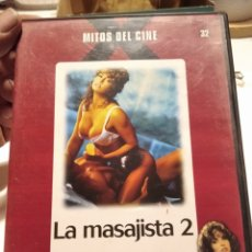 Cine: DVD CINE X LA MASAJISTA 2. Lote 263093775