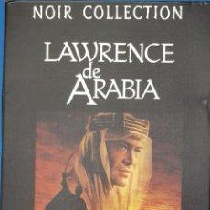 Cine: DVD / LAWRENCE DE ARABIA - DAVID LEAN (NOIR COLLECTION CON 2 DVDS). Lote 263109035