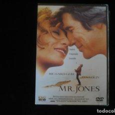 Cine: MR. JONES RICHARD GERE - IDIOMAS: CATALAN Y INGLES - DVD NUEVO PRECINTADO. Lote 263184570