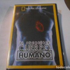 Cine: NATIONAL GEOGRAPHIC-EL INCREIBLE CUERPO HUMANO-DVD PRECINTADO. Lote 263184640