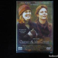 Cine: QUEDA'T AL MEU COSTAT - IDIOMAS: CATALAN Y INGLES - DVD NUEVO PRECINTADO. Lote 263185210