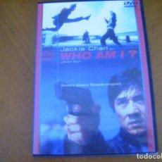 Cine: WHO AM I ? - DVD CAJA FINA EXCELENTE ESTADO. Lote 263185215