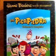 Cine: LOS PICAPIEDRA / EDICIÓN COLECCIONISTA VOLUMEN 2 COMPLETO / 5 DVD, 32 EPISODIOS / HANNA BARBERA /. Lote 263185310