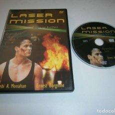 Cine: LASER MISION DVD BRANDON LEE. Lote 263210885