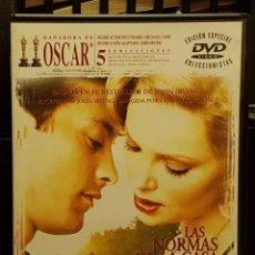 Cine: LAS NORMAS DE LA CASA DE LA SIDRA. Lote 263211330