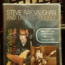 Cine: STEVIE RAY - AND DOUBLE TROUBLE. Lote 263211900