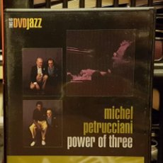 Cine: MICHEL PETRUCCIANI - POWER OF THREE. Lote 263212890
