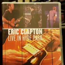 Cine: ERIC CLAPTON - LIVE IN HYDE PARK. Lote 263213385