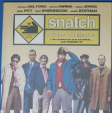 Cine: DVD / SNATCH - GUY RITCHIE, 2000. Lote 263213615