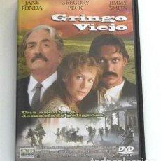 Cine: GRINGO VIEJO DVD PELÍCULA GREGORY PECK JANE FONDA SMITS LUIS PUENZO REVOLUCIÓN MEJICANA MÉXICO VILLA. Lote 263269840