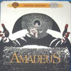 Cine: DVD / AMADEUS, MILOS FORMAN, 1984 (EDICIÓN LIMITADA 2 DISCOS, CAJA METÁLICA). Lote 263607030