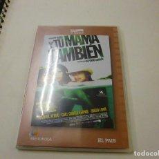 Cinema: Y TU MAMA TAMBIEN - DVD - CAJA DELGADA - N 2. Lote 263654900