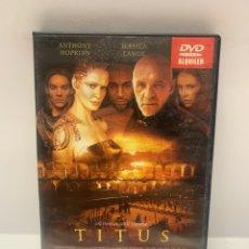 Cinéma: V116 TITUS DVD PROCEDENTE VÍDEOCLUB. Lote 263691705