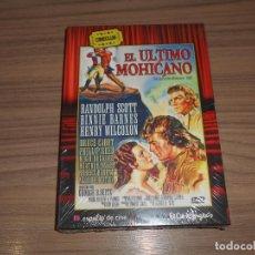 Cine: EL ULTIMO MOHICANO EDICION ESPECIAL DVD + LIBRO 34 PAG. RANDOLPH SCOTT NUEVA PRECINTADA. Lote 288913023