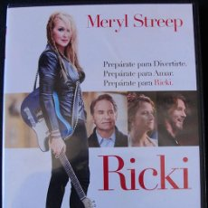Cine: RICKI - DVD - MERYL STREEP -. Lote 263810495
