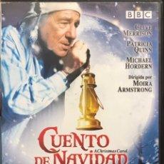 Cine: DVD CUENTO DE NAVIDAD - PATRICIA QUINN, CLIVE MERRISON - NOVELA CHARLES DICKENS BBC. Lote 264073725