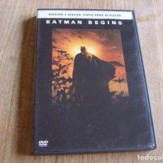 Cine: DVD. BATMAN BEGINS. 2 DVD. Lote 264303040