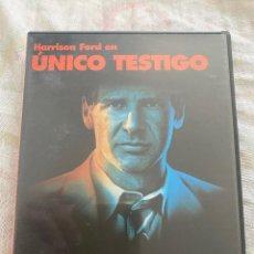 Cine: DVD UNICO TESTIGO-HARRISON FORD. Lote 293906973