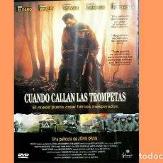 Cine: PELÍCULA EN DVD DE CINE BÉLICO: CUANDO CALLAN LAS TROMPETAS (OCASIÓN). Lote 265411679
