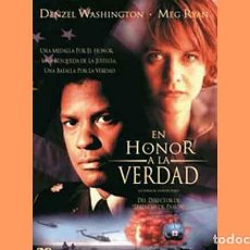 Cine: PELÍCULA EN DVD DE CINE BÉLICO: EN HONOR A LA VERDAD (OCASIÓN). Lote 265411839