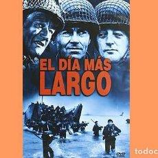 Cine: PELÍCULA EN DVD DE CINE BÉLICO: EL DÍA MÁS LARGO (OCASIÓN). Lote 265412479